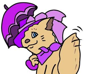 tararaさんのふわふわ長毛の猫の2頭身キャラクターデザインをお願いいたしますへの提案