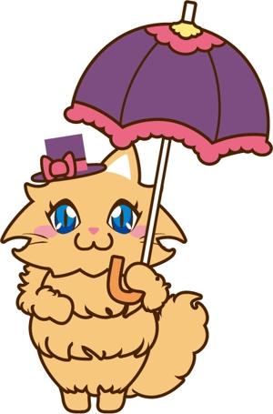 loveinkoさんのふわふわ長毛の猫の2頭身キャラクターデザインをお願いいたしますへの提案