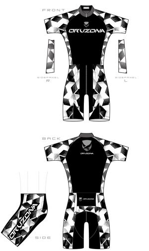 omoidefz750さんのサイクルウェアー 上・下デザイン 募集 への提案