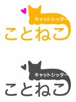 akiyamaさんのキャットシッターサービスのロゴへの提案
