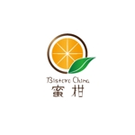 hana_eitoさんの飲食店BistroChina蜜柑のロゴへの提案
