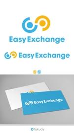 takudyさんの外貨自動両替機システム「easy exchange」のサービスのロゴへの提案