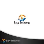 treefrog794さんの外貨自動両替機システム「easy exchange」のサービスのロゴへの提案