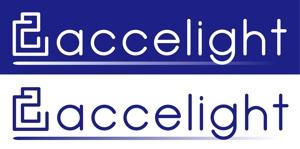 simeepさんの「accelight」のロゴ作成への提案