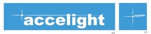 hiraganaさんの「accelight」のロゴ作成への提案