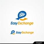 KunihikoKonoさんの外貨自動両替機システム「easy exchange」のサービスのロゴへの提案