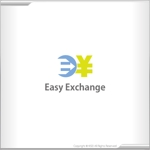 kiseiさんの外貨自動両替機システム「easy exchange」のサービスのロゴへの提案