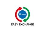 lotoさんの外貨自動両替機システム「easy exchange」のサービスのロゴへの提案