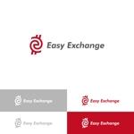 klennyさんの外貨自動両替機システム「easy exchange」のサービスのロゴへの提案