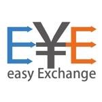 t-designさんの外貨自動両替機システム「easy exchange」のサービスのロゴへの提案