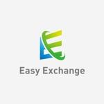 landscapeさんの外貨自動両替機システム「easy exchange」のサービスのロゴへの提案