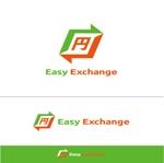 ispd51さんの外貨自動両替機システム「easy exchange」のサービスのロゴへの提案