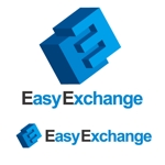 j-designさんの外貨自動両替機システム「easy exchange」のサービスのロゴへの提案