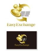 serve2000さんの外貨自動両替機システム「easy exchange」のサービスのロゴへの提案
