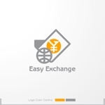 sa_akutsuさんの外貨自動両替機システム「easy exchange」のサービスのロゴへの提案
