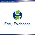 katagirisingさんの外貨自動両替機システム「easy exchange」のサービスのロゴへの提案