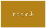 生活雑貨ショップ「recol」のロゴへの提案