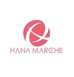 king_jさんのTVショッピング番組「ハナマルシェ」のロゴへの提案