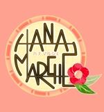 okam_free03さんのTVショッピング番組「ハナマルシェ」のロゴへの提案