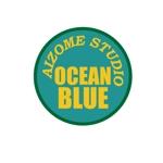 isimoti02さんの藍染めTシャツに縫い付けるネームタグのロゴデザインへの提案