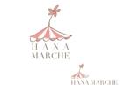 marukeiさんのTVショッピング番組「ハナマルシェ」のロゴへの提案