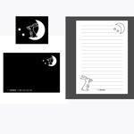 eggDさんの封筒、便箋のデザインへの提案