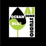 chopin1810lisztさんの藍染めTシャツに縫い付けるネームタグのロゴデザインへの提案