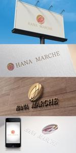 katsu31さんのTVショッピング番組「ハナマルシェ」のロゴへの提案