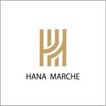 K_KOKUNEさんのTVショッピング番組「ハナマルシェ」のロゴへの提案