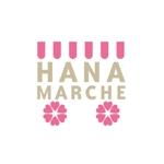 tera0107さんのTVショッピング番組「ハナマルシェ」のロゴへの提案