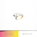 design-baseさんのTVショッピング番組「ハナマルシェ」のロゴへの提案