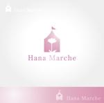 TaMTaMさんのTVショッピング番組「ハナマルシェ」のロゴへの提案