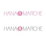 k_pressさんのTVショッピング番組「ハナマルシェ」のロゴへの提案