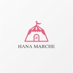 drkigawaさんのTVショッピング番組「ハナマルシェ」のロゴへの提案