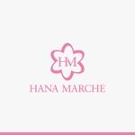yuizmさんのTVショッピング番組「ハナマルシェ」のロゴへの提案