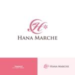 ImpactさんのTVショッピング番組「ハナマルシェ」のロゴへの提案