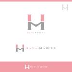 CREATE-HARAさんのTVショッピング番組「ハナマルシェ」のロゴへの提案