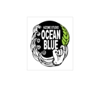ukuleleさんの藍染めTシャツに縫い付けるネームタグのロゴデザインへの提案