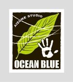 FD-43さんの藍染めTシャツに縫い付けるネームタグのロゴデザインへの提案