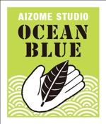 tohadesignさんの藍染めTシャツに縫い付けるネームタグのロゴデザインへの提案