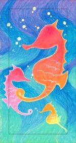 海の生物でスマホカバーのデザインをお願いします。への提案