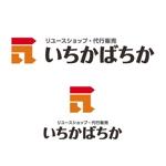 リユースショップ・代行販売「いちかばちか」のロゴへの提案
