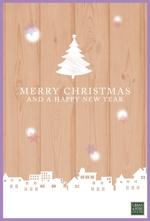 kinakinaさんのクリスマスカードデザイン制作への提案