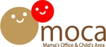 託児付オフィス「moca」(Mama's Office & Child's Area)のロゴへの提案