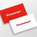 doremidesignさんの「Tommys」のロゴへの提案