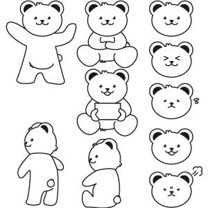 sui_mitomeさんの会社のマスコットキャラクター 白くまへの提案