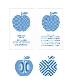 jpn_pineさんの果樹園の名刺デザインへの提案