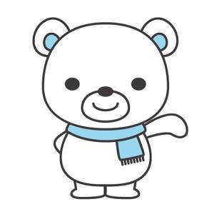 naomさんの会社のマスコットキャラクター 白くまへの提案