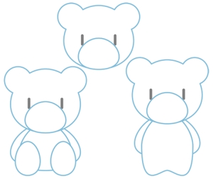 renkaさんの会社のマスコットキャラクター 白くまへの提案