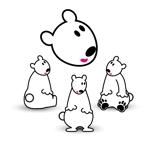 koma2さんの会社のマスコットキャラクター 白くまへの提案